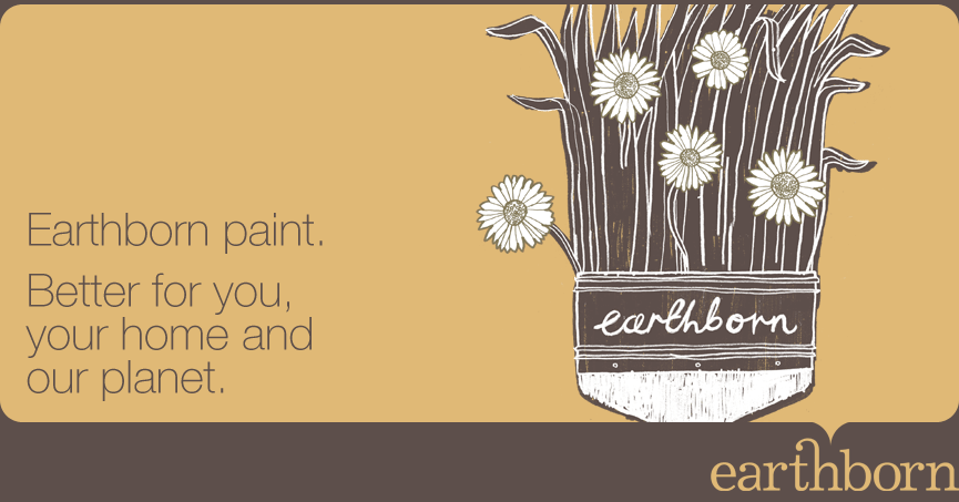 Earthborn paint, natural paint, eco paint