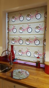 Roman Blind - Bicycles